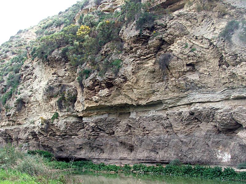 An example of  Mediterranean evaporites.