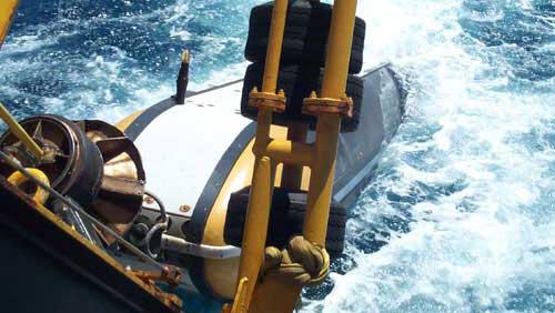 sidescan sonar system
